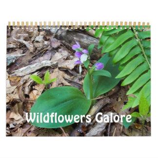 Kalender~-vildblommar Galore Kalender