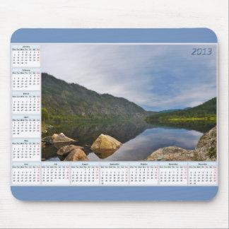 Kalendern för 2013 landskap mus mattor
