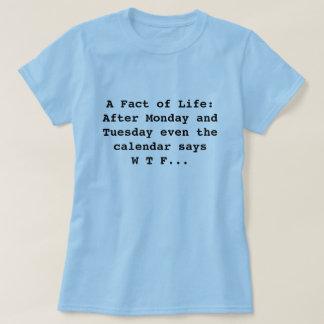 Kalendernågot att säga WTF T Shirt