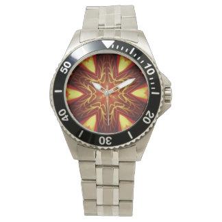 Kaliedoscope design armbandsur