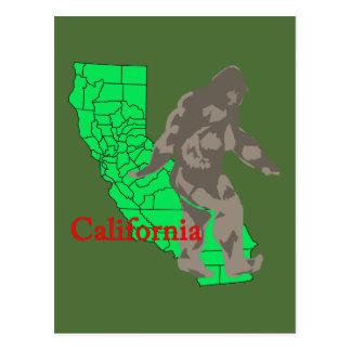 Kalifornien bigfoot vykort