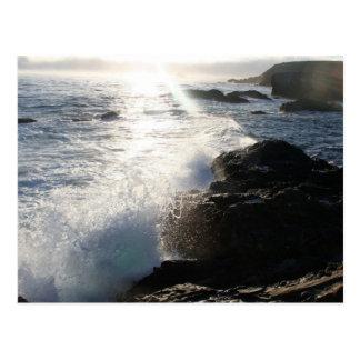 Kalifornien Carmel vid havsvykortet Vykort