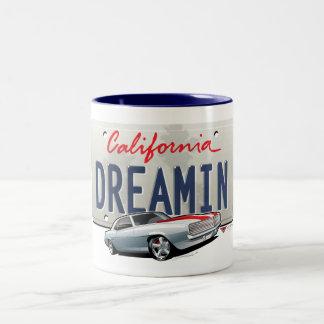 Kalifornien dreamin-Camaro2 pläterar Två-Tonad Mugg