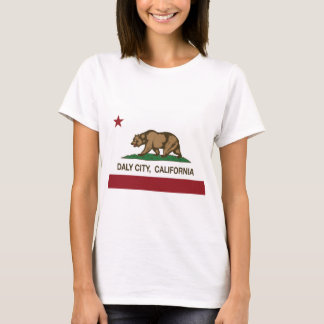 Kalifornien flagga Daly City T-shirt