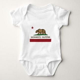 Kalifornien flagga sacramento t shirt