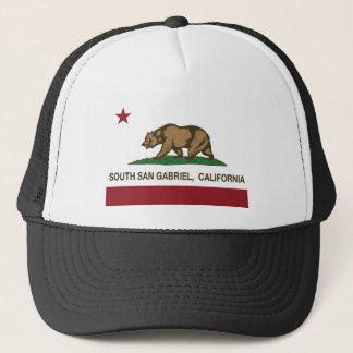 Kalifornien flagga södra San Gabriel Keps