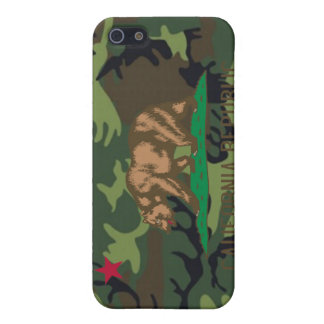 Kalifornien flaggakamouflage Camo iPhone 5 Cover