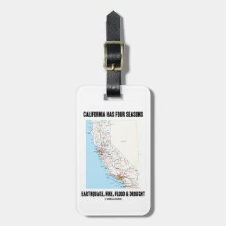 Kalifornien har jordskalv för fyra säsonger att bagagebricka