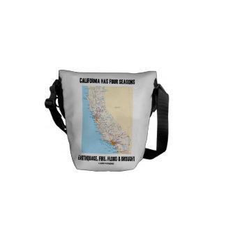 Kalifornien har jordskalv för fyra säsonger att kurir väska