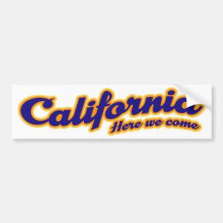 Kalifornien - här kommer vi bildekal