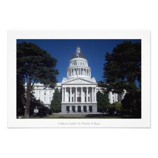 """""""Kalifornien huvudstad,"""" Sacramento Fototryck"""