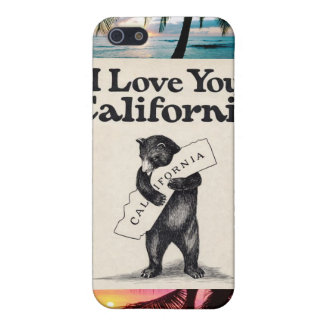 Kalifornien kärlek iPhone 5 skal
