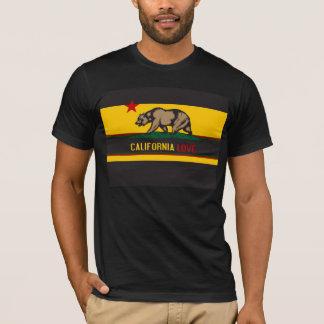 Kalifornien kärlek t-shirt