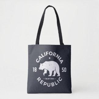 Kalifornien logotyp | Kalifornien 2 Tygkasse