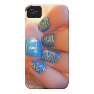 Kalifornien nagelkonst iPhone 4 Case-Mate fodraler