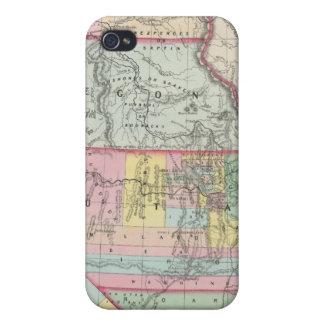 Kalifornien Oregon, Washington, Utah som är ny - iPhone 4 Hud