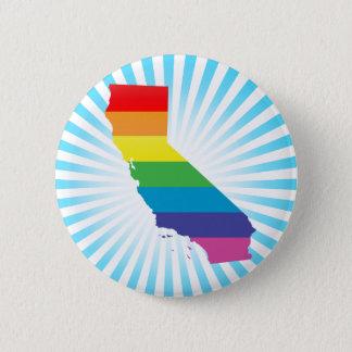 Kalifornien pride standard knapp rund 5.7 cm