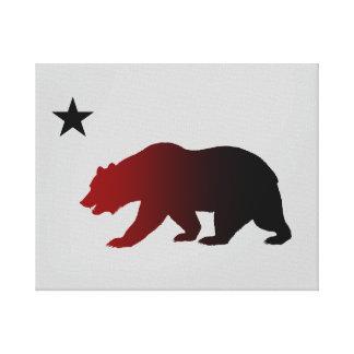 Kalifornien republik canvastryck