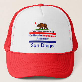 Kalifornien republikan CRA Keps