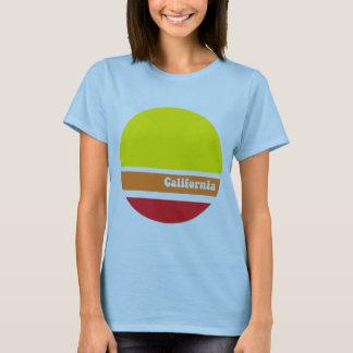 Kalifornien retro T-tröja T-shirts