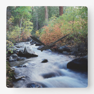 Kalifornien Sierra Nevada berg 11 Fyrkantig Klocka
