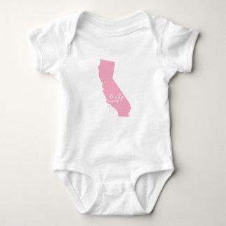 Kalifornien statlig Bodysuit, lokalt som är T-shirt