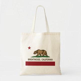 Kalifornien statlig flagga Brentwood Budget Tygkasse