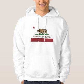 Kalifornien statlig flagga Campbell Hoodie