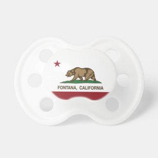 Kalifornien statlig flagga Fontana Napp