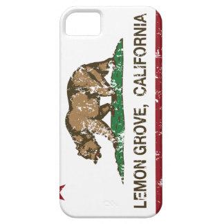 Kalifornien statlig flagga Lemon Grove iPhone 5 Skydd