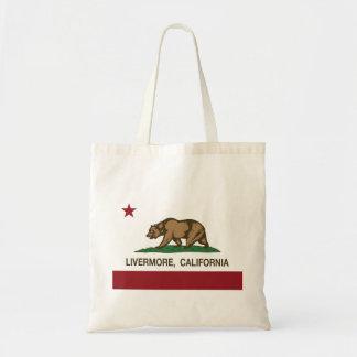 Kalifornien statlig flagga Livermore Budget Tygkasse