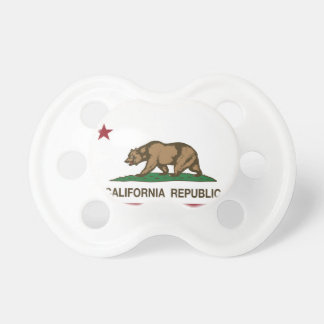 Kalifornien statlig flagga napp