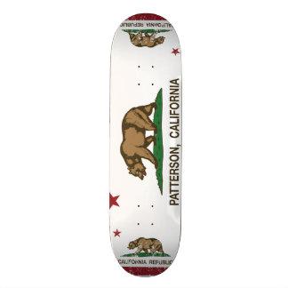 Kalifornien statlig flagga Patterson Skate Board Decks