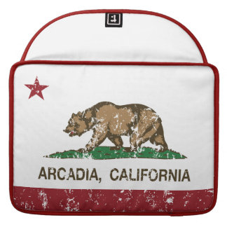Kalifornien statlig flaggaArcadia Sleeve För MacBooks