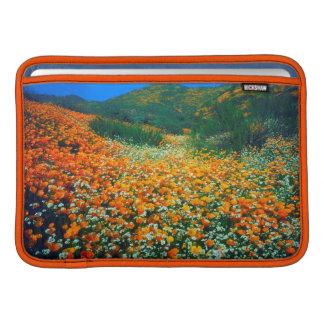 Kalifornien vallmo- och Popcornvildblommar Sleeve För MacBook Air