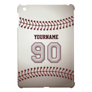 Kall baseball syr - anpassningsbar numrerar 90 och iPad mini skydd