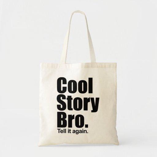 Kall berättelse Bro. Berätta den igen.  Hänga lös Tote Bags