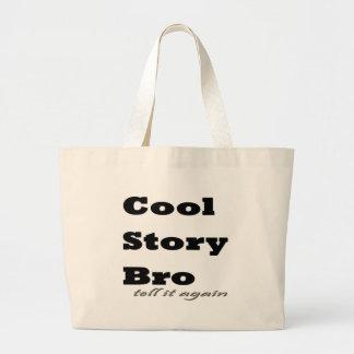 Kall berättelse Bro. Berätta den igen Jumbo Tygkasse
