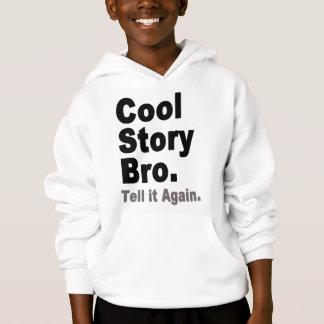 Kall berättelse Bro. Berätta den igen. Roliga T-shirt