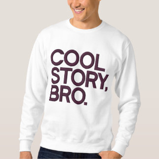 Kall berättelse Bro Broderad Sweatshirt