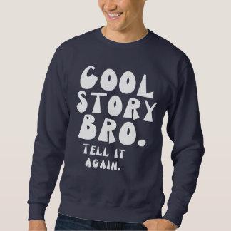 Kall berättelse Bro. (ckgw) Långärmad Tröja
