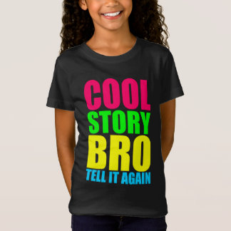 Kall berättelse Bro för neon Tshirts