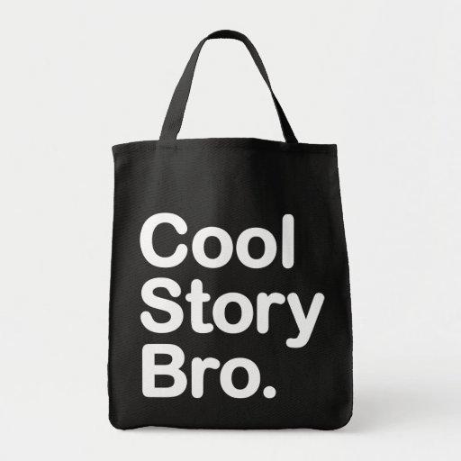 Kall berättelse Bro.  Hänga lös Tote Bag