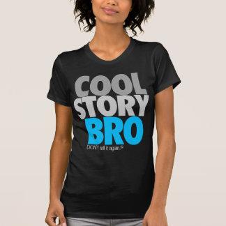 Kall berättelse Bro himmelblått T-shirts
