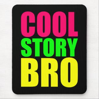 Kall berättelse Bro i neonstilfärger Musmatta