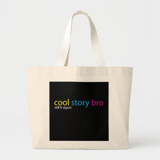 Kall berättelse Bro Tote Bags