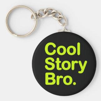 Kall berättelse Bro. Keychain Rund Nyckelring