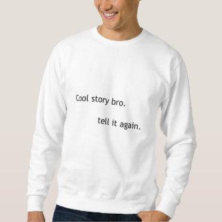 Kall berättelse, bro. långärmad tröja