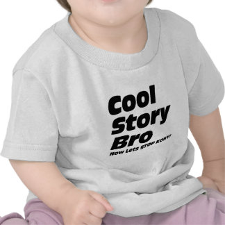 Kall berättelse Bro - låter nu stoppet Kony Tshirts
