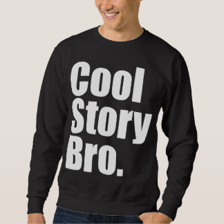 Kall berättelse Bro. Mörk tröja